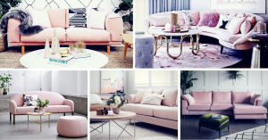 Blush Pink Sofa: Add A Touch Of Color To The Living Room