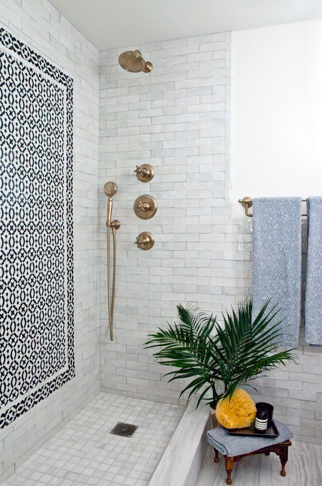 Decorative Shower Wall