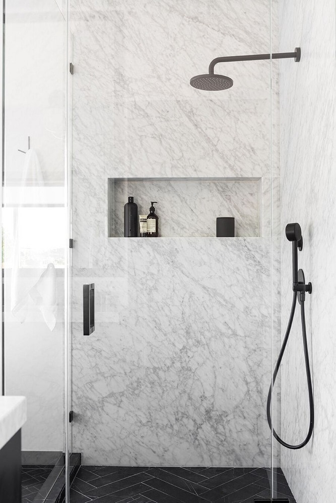 Marble Shower & Beautiful Bathroom Shower Tile Ideas - Homelovr