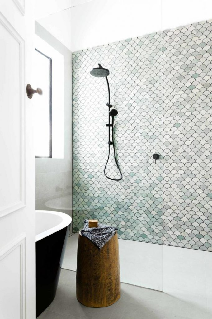 Moroccan Fish Scale Tiles