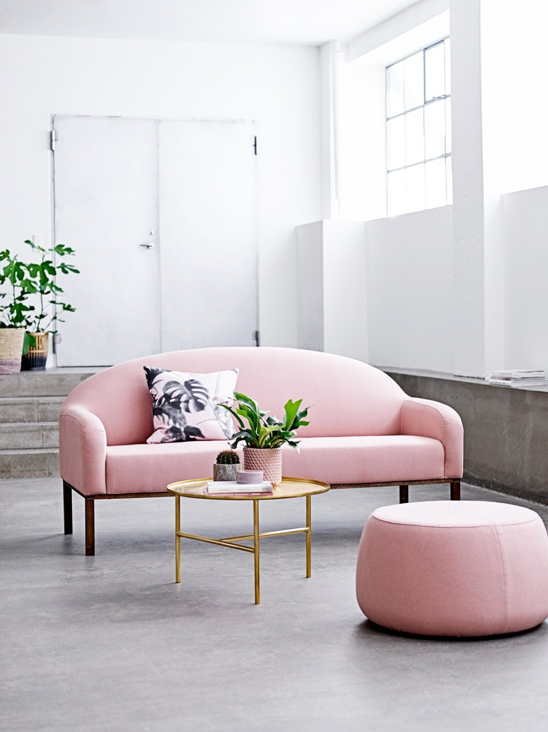 Blush Pink Sofas Add A Touch Of Color To Your Living Room