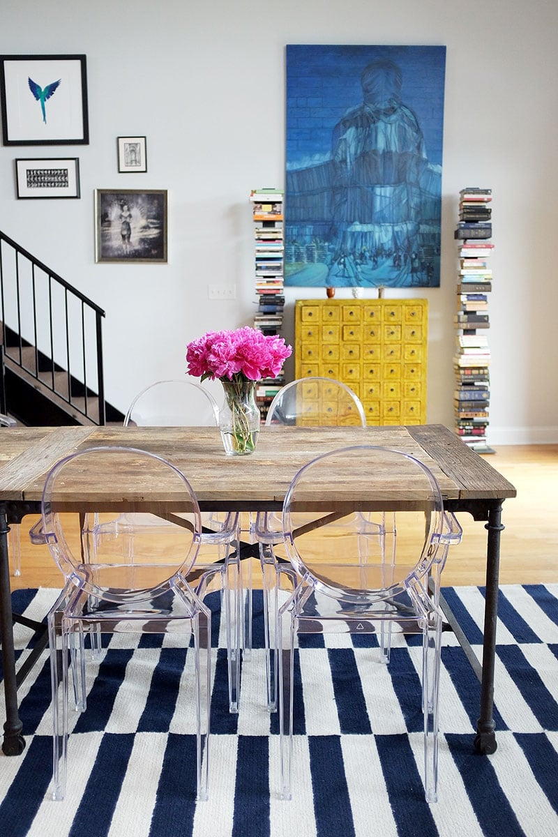 ghost chairs dining room | 17 Stunning Ghost Chair Inspirations | Homelovr