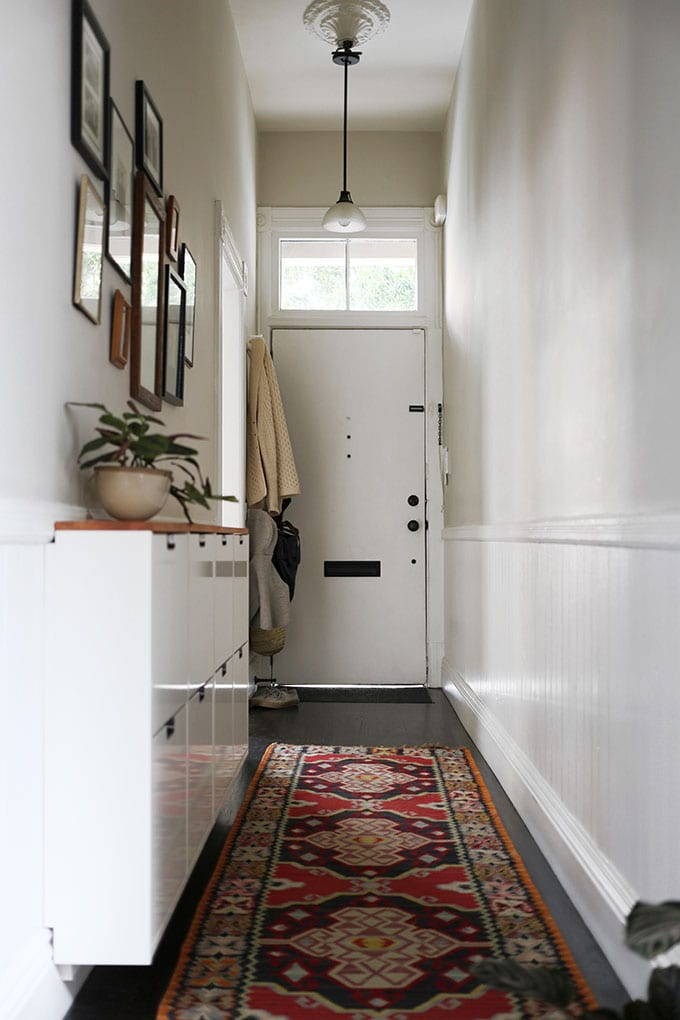 Shelves White Walls And Entry Ways: Make A Stunning First Impression With These Narrow Entryway Ideas