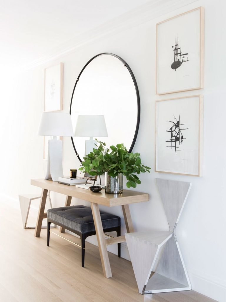 Fantastic Foyer Ideas To Make The Perfect First Impression: Entry Table Ideas That Make A Great First Impression