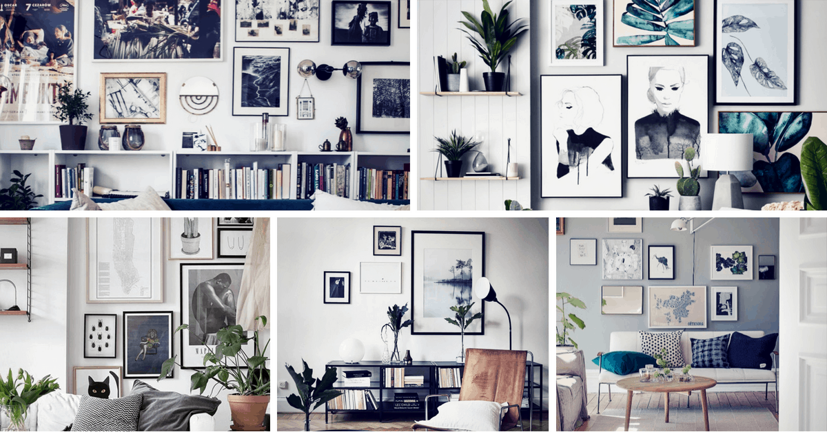 20 Gallery Wall Ideas To Create A Focal Point In Any Room