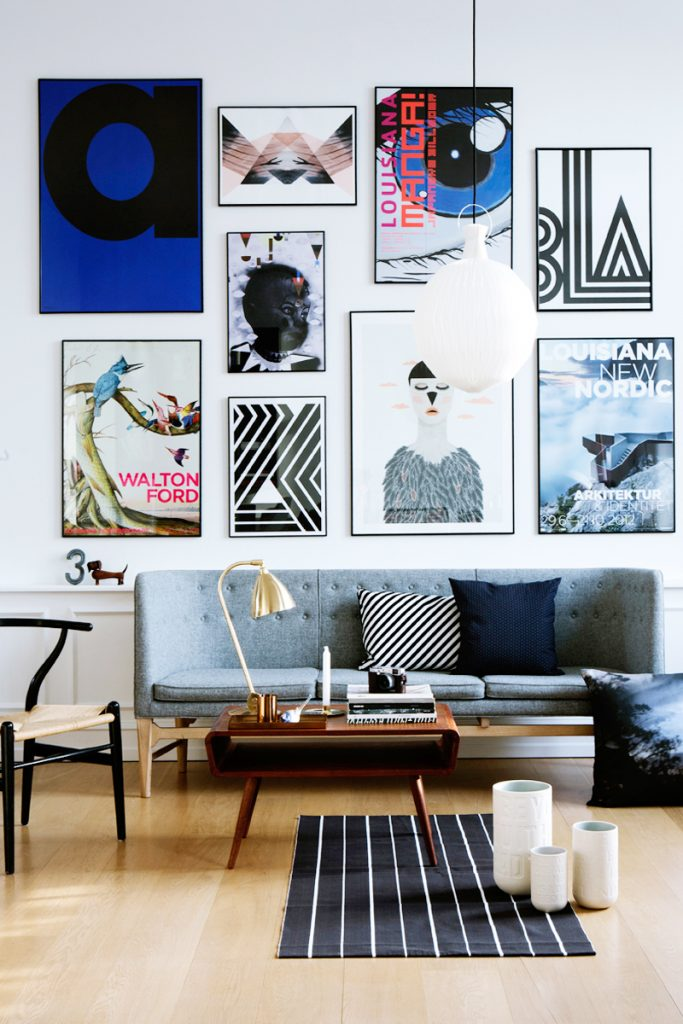 e393cbd585d 20 Gallery Wall Ideas to Create a Focal Point in Any Room - Homelovr