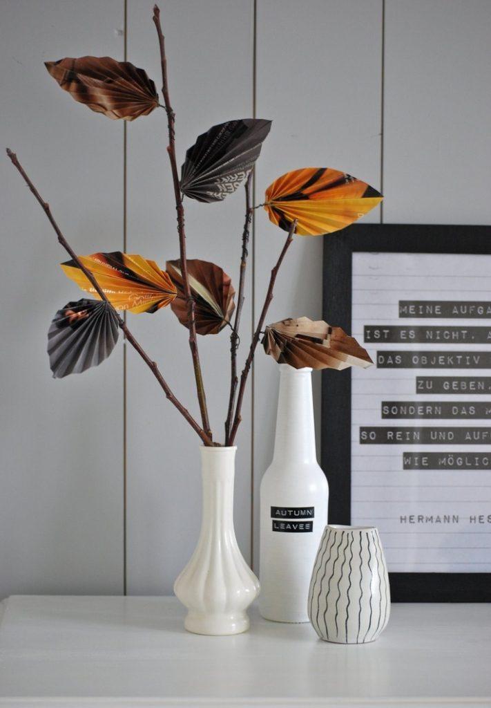 Autumn Leaves Label DIY