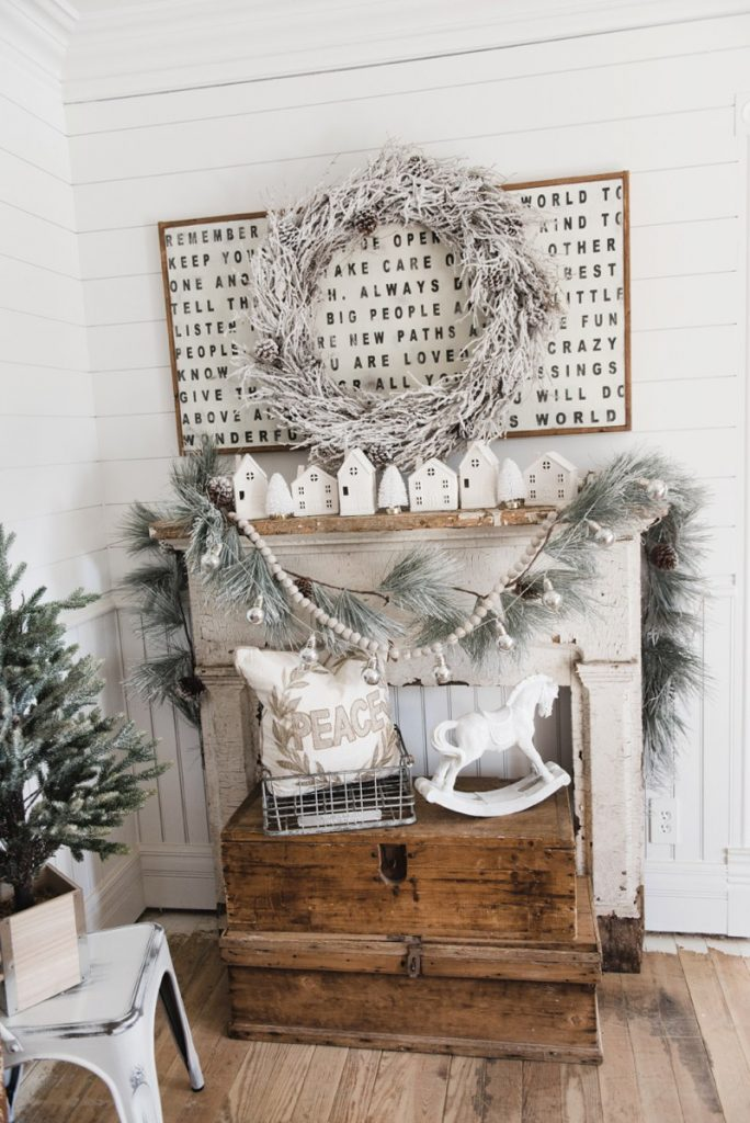 Beautiful Christmas Mantel Decor Ideas