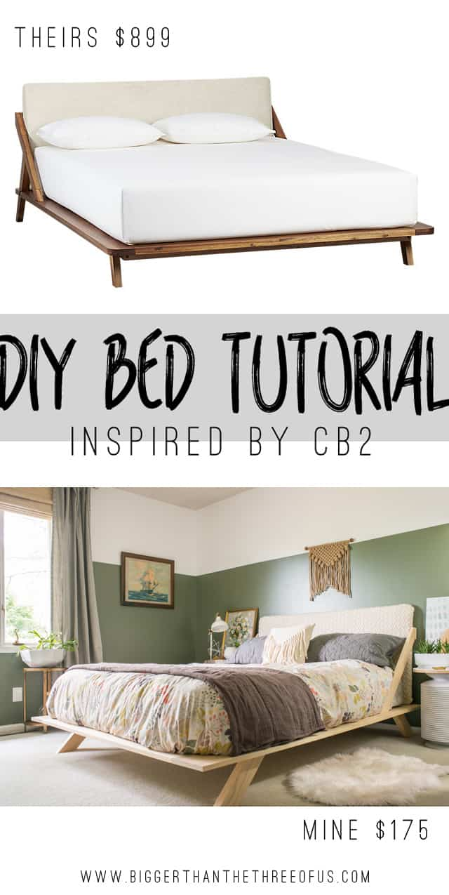 36 Easy DIY Bed Frame Projects to Upgrade Your Bedroom - Homelovr