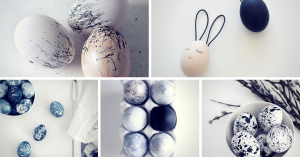 minimalistic easter egg ideas